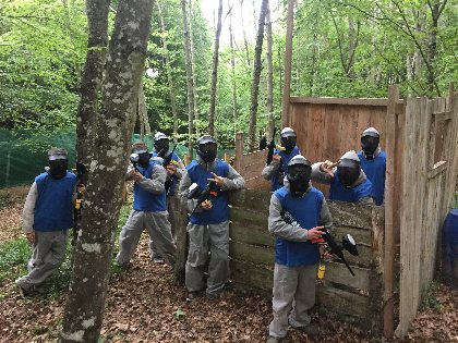 Paintball, Grimpe et Cimes