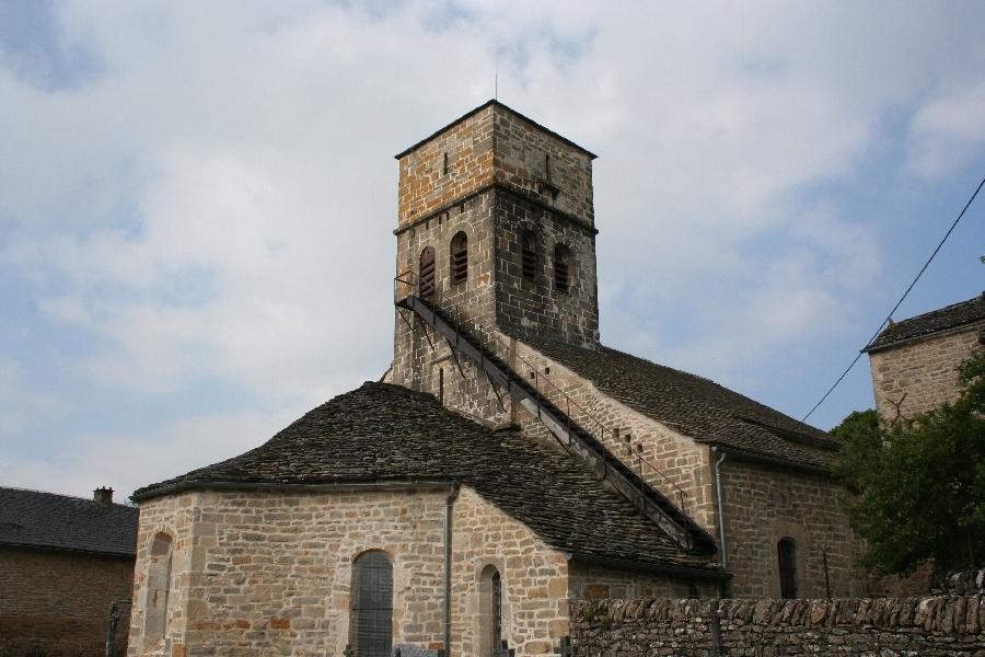 Visites de l'église de Saint Dalmazy