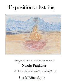 Exposition Images et textes en correspondance par Nicole Pradalier