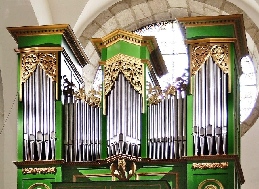 Présentation de l'orgue