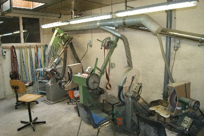 stage de fabrication de couteau -Coutellerie COIGNET,