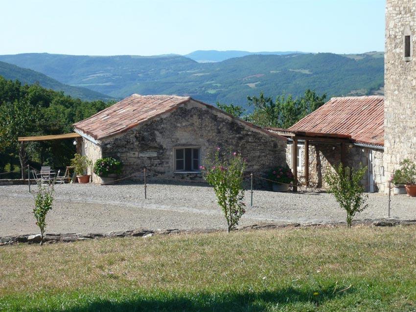 Domaine de Nougayrolles : Gîte Les Hortensias