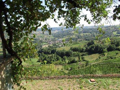 Panorama depuis les terrasses, Pascal Villebrod