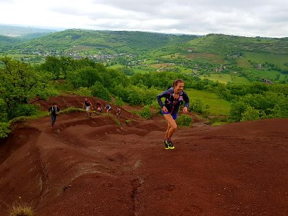 Parcours Trail Valady  n° 11