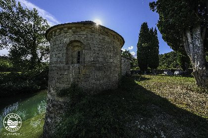 Chapelle St-Amans de Valsorgue, Virginie Govignon - OT Larzac Vallées
