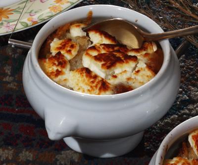 Soupe au fromage de l'APE Labules à Recoules Prévinquières