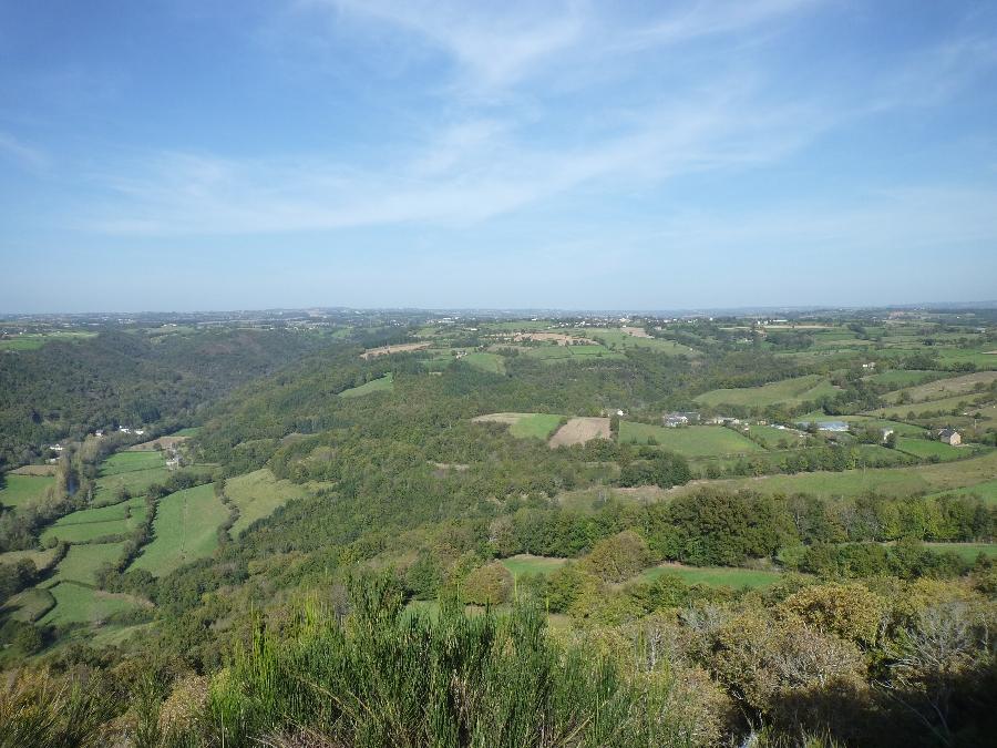 Randonnée Roc de Miramont - Castelpers
