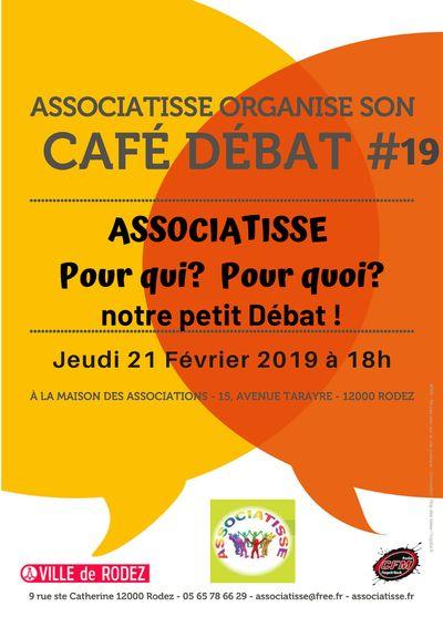 ASSOCIATISSE : CAFÉ DÉBAT #19