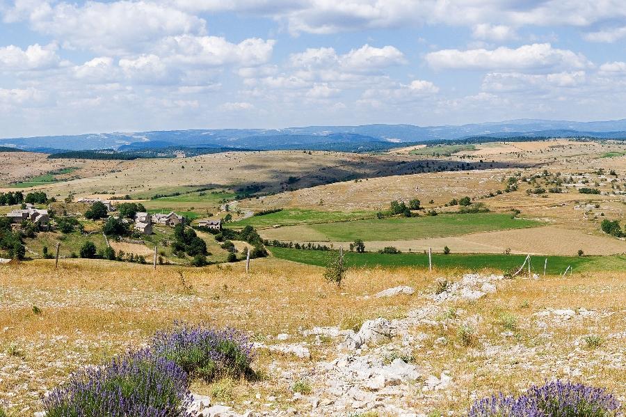 Cyclotourisme: Circuit des paysages Caussenards