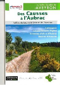 Topo-guide de randonnées Des Causses à l'Aubrac,
