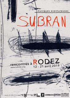 Festival Subran : Création musicales et Rencontres au musée Soulages