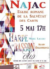 Concert : Duo harpe et basson