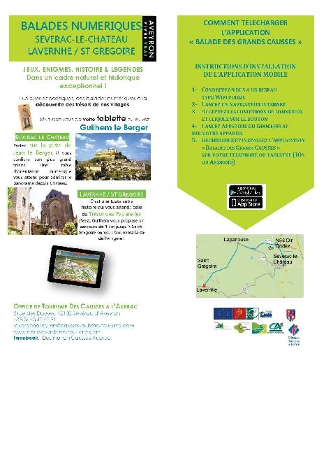 Balade numérique des Grands Causses à Sévérac-le-Château