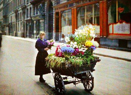 Vente de fleurs itinérante