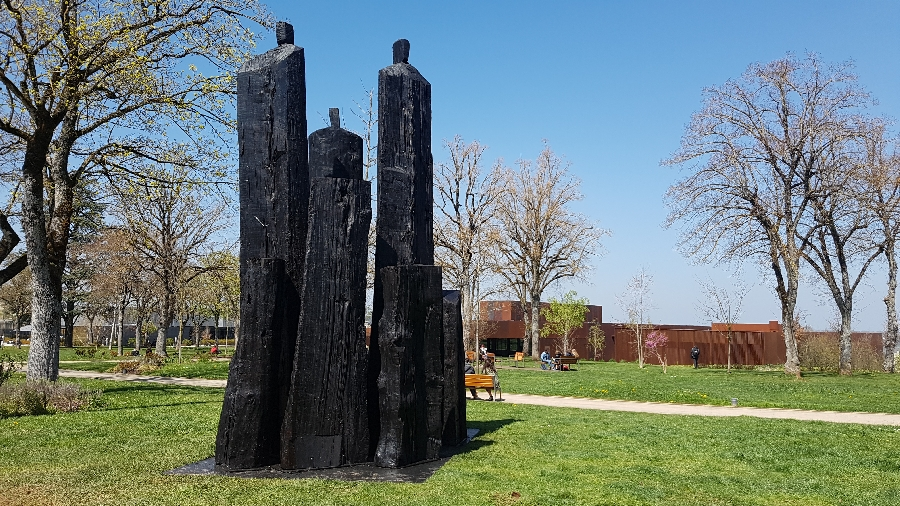 SIECLE SOULAGES : Christian Lapie, Le Souffle du temps
