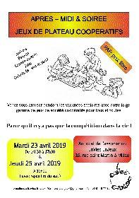 Jeux de plateau coopératifs - EnVies Enjeux