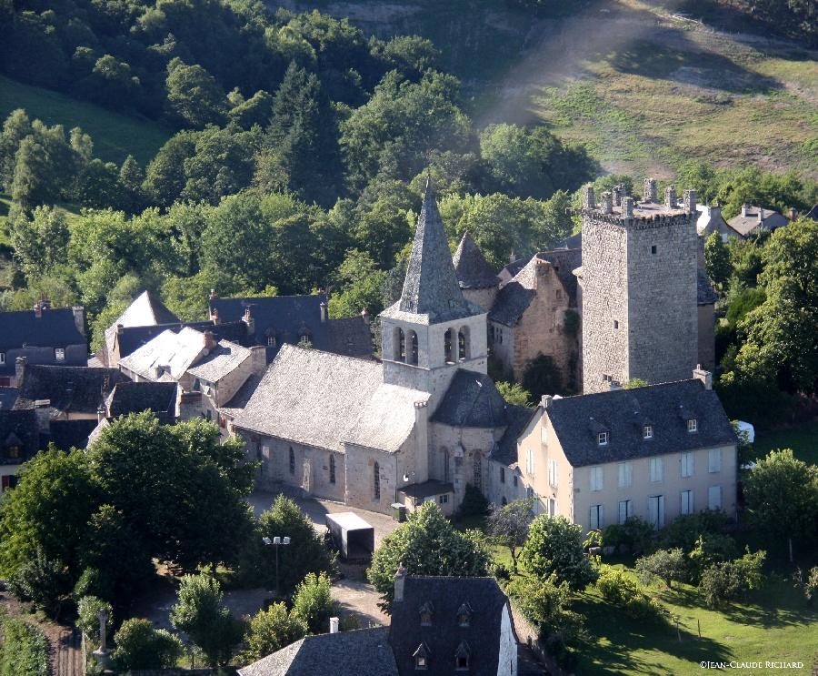 Randonnée de Sénergues - Autour du clocher...
