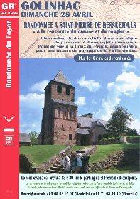 Randonnée à St Pierre de Béssuéjouls