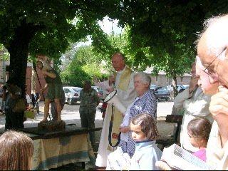Fête de la St Christophe à Sauveterre