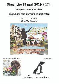 Grand concert Choeurs et orchestre