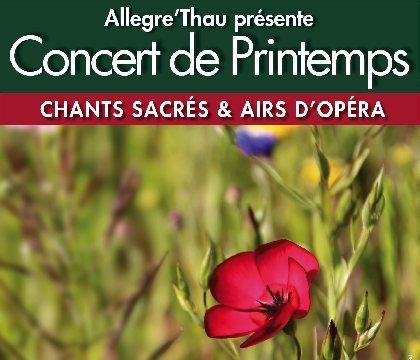 Concert de Printemps : chants sacrés et airs d'opéra
