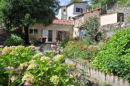 Jardin fleuri,
