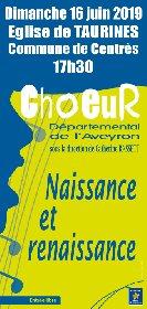 Concert du Choeur Départemental de l'Aveyron