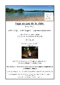 Séances de yoga au Lac de la Cisba à Lapanouse