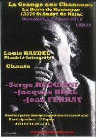 Concert avec La Grange aux Chansons