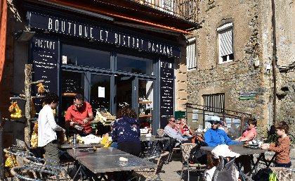 Boutique et bistrot paysan, OFFICE DE TOURISME LARZAC VALLEES