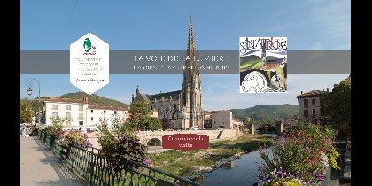 Balade Numérique à Saint-Affrique, Aveyron, Ville de Saint-Affrique, Parc Naturel Régional des Grands Causses