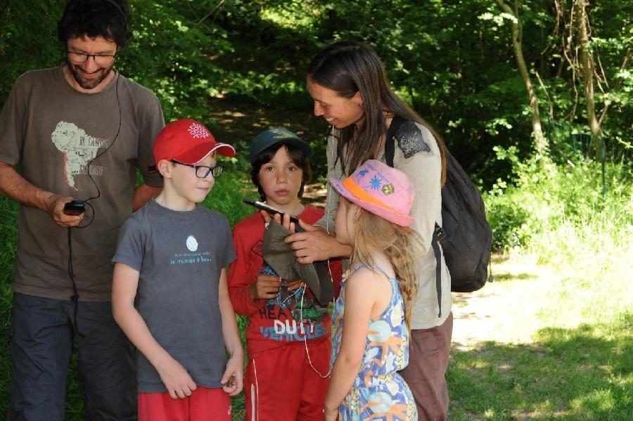 Oreilles en Balade Enfant - parcours sonore de La Salvetat Peyralès