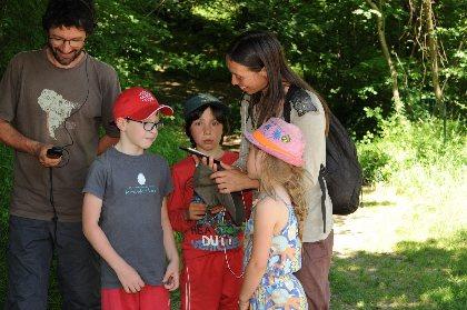 Oreilles en Balade Enfant - parcours sonore de Rieupeyroux