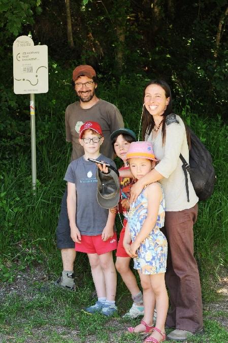 Oreilles en Balade Enfant - parcours sonore à Prévinquières