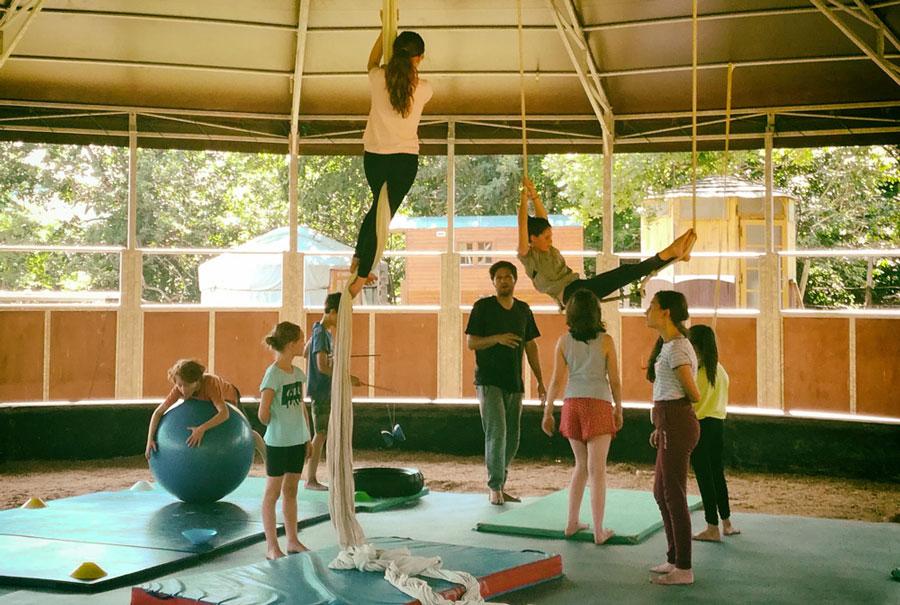 Cirka Kana-Valka - stage de cirque enfants / ados/ adultes