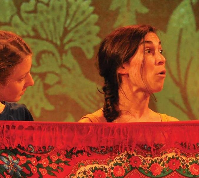 Théâtre : Les trois petites soeurs