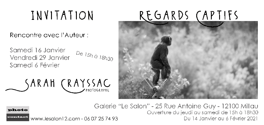 Expositions photos - Galerie le Salon