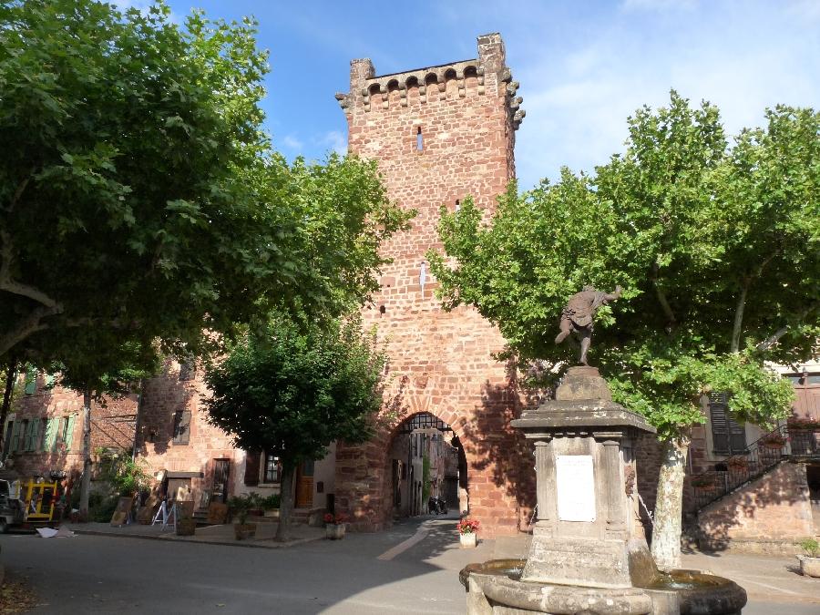 Village de Clairvaux d'Aveyron