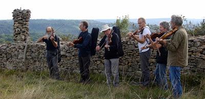 Les Violons d'automne, animations musicales à Sévérac-le-Château