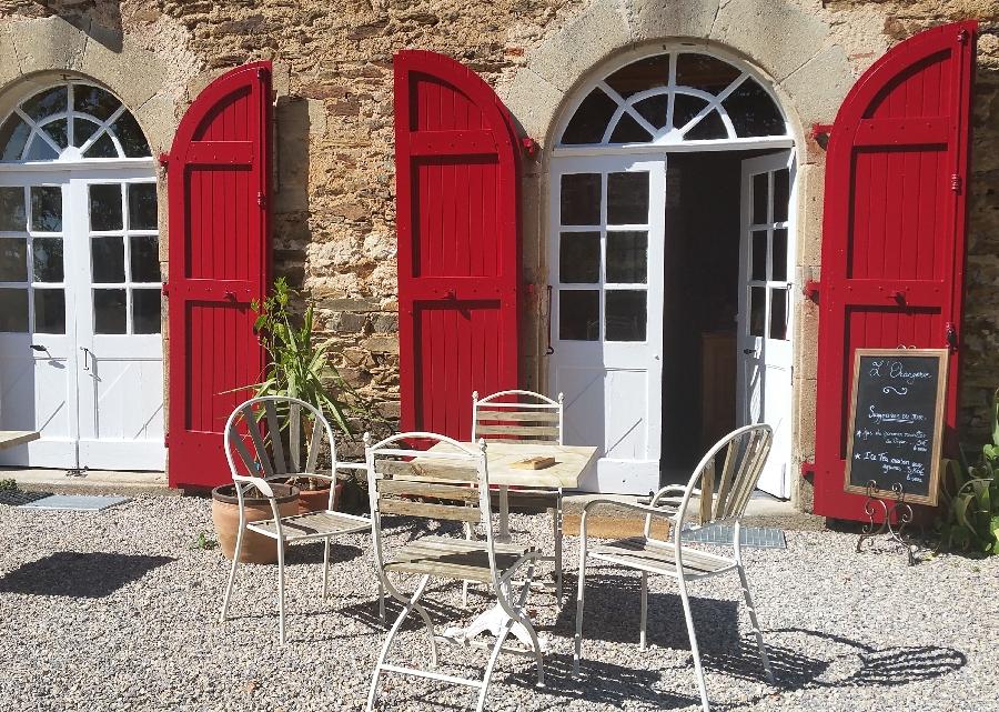 Salon de thé du Château du Bosc