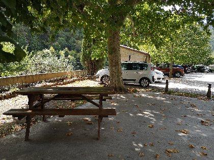 Aire de pique-nique de La Roque Sainte-Marguerite, OFFICE DE TOURISME DE MILLAU