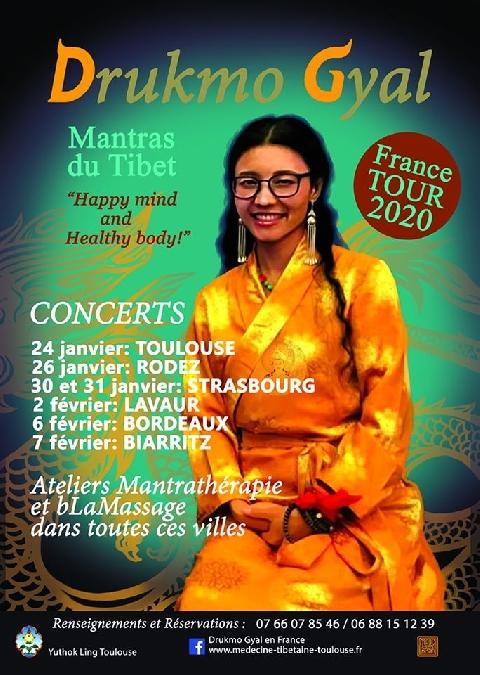 Concert : Drukmo Gyal