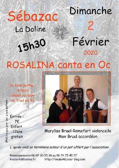 Concert : Rosalina Canta en Oc