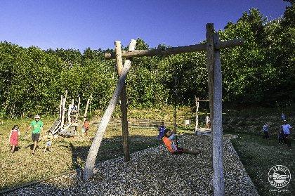Aire de loisirs de La Roque, Virginie Govignon - OT Larzac Vallées