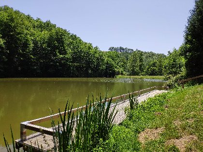 Pêche au plan d'eau de Masnau, OFFICE DE TOURISME DU PAYS DE ROQUEFORT ET DU ST-AFFRICAIN