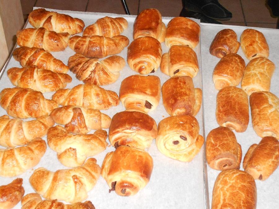 Stage de pâtisserie: viennoiseries