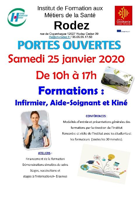 Portes ouvertes Institut de Formation aux Métiers de la Santé