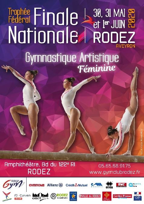 ANNULE : Finale Nationale Trophée Fédéral par Equipes - Gymnastique