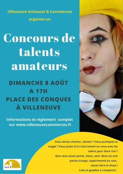 Concours de talents amateurs