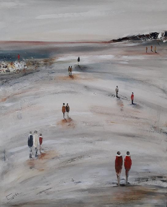 Exposition peintures de Chantal Grès